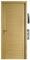 Bloc-porte ETNA isolante en chêne plaqué huisserie KM1 haut.2,04m larg.83cm gauche poussant - Gedimat.fr
