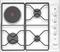 Plaque de cuisson 3 feux gaz + 1 foyer électrique WHIRLPOOL 60cm coloris blanc - Gedimat.fr