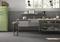 Plinthe - Dim.pour carrelage sol HABITAT larg.9,5cm long.45cm coloris gris - Gedimat.fr