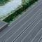 Lame de terrasse composite gris anthracite - Gedimat.fr