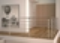 Kit RONDO SECUNDO rampe et garde-corps  aluminium long.1,00 m gris anthracite 7016 - Gedimat.fr