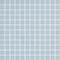 Emaux de verre de 2,5x2,5cm antidérapant NATUREGLASS sur trame de 31,1x31,1cm coloris white - Gedimat.fr