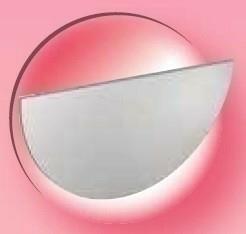 Fond de gouttière à souder en zinc naturel pour gouttière demi-ronde developpé de 33 cm - Gedimat.fr