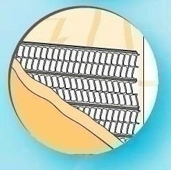 Lattis support d'enduit en acier galvanisé avec papier long.2,50m larg.60cm - Gedimat.fr