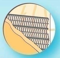 Lattis support d'enduit en acier galvanisé long.2,50m larg.60cm - Gedimat.fr