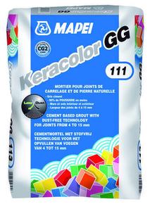 Mortier de jointoiement KERACOLOR GG classe CG2WA sac de 25kg coloris gris argent - Gedimat.fr