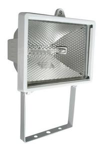 Projecteur 400 Watts blanc avec tube R7S - Gedimat.fr