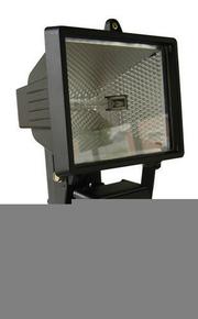 Projecteur 400 Watts avec détecteur noir et tube R7S - Gedimat.fr