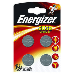 PILE CR2032 3V LITHIUM ENERGIZER B4 - Gedimat.fr