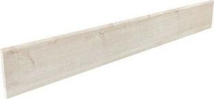 Plinthe SALOON en grès cérame émaillé larg.10cm long.80cm coloris 1 blanc - Gedimat.fr