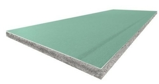 Doublage polystyrène graphite hydrofuge PREGYTHERM BA13+160 - 2,50x1,20m - R=5,05m².K/W - Gedimat.fr