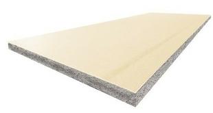 Doublage isolant PREGYTHERM R= 1,75 Déco BA10+60 plaque de plâtre prépeinte + PSE Graphite TM ép.10+60mm larg.1,20m long.2,50m - Gedimat.fr