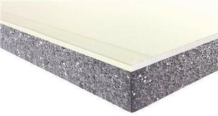 Doublage isolant PREGYTHERM R= 0,60 Hydro Déco BA10+20 plaque de plâtre PREGYDRO prépeinte + PSE Graphite TM ép.10+20mm larg.1,20m long.2,50m - Gedimat.fr