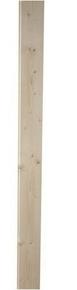 Lambris sapin du Nord massif version brut Long.2,50m larg.138mm ép.13 mm aspect brut de sciage - Gedimat.fr