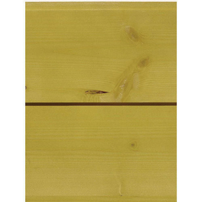 Lambris Sapin du Nord Bélouga profil Elégie carrée languette décalée ép.15 larg.135mm long.2,50m Anis - Gedimat.fr