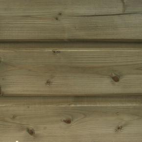 Bardage Sapin du Nord Classic profil Louisiane ép.21mm larg.(utile) 132mm long.3,00m - Gedimat.fr