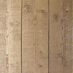 Lambris Sapin du Nord Métal profil Elégie carrée languette décalée ép.15 larg.135mm long.2,50m Brun Mordoré - Gedimat.fr