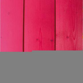 Lambris Sapin du Nord Happy Colors profil Elégie carrée languette décalée ép.15 larg.135mm long.2,50m Rose Pop - Gedimat.fr