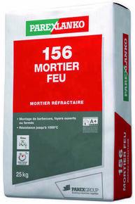 Mortier réfractaire en poudre 156 MORTIER FEU sac 25kg - Gedimat.fr