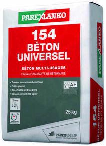Béton multi-usages 154 BETON coloris gris sac 25kg - Gedimat.fr