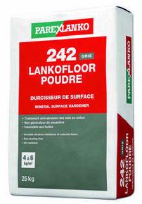 Durcisseur de surface et traitement anti-usure 241 LANKOFLOOR POUDRE GRIS sac de 25kg - Gedimat.fr