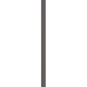 Listel carrelage pour mur en faïence SMART larg.4cm long.60cm coloris fumo - Gedimat.fr