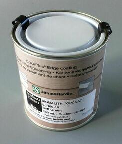 Peinture de retouche pour bardage HardiePlank pot de 0,5 litre Blanc Arctique - Gedimat.fr