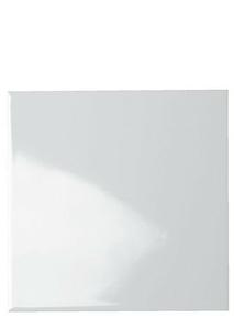 Carrelage pour mur en faïence dim.20x20cm blanche brillante lisse - Gedimat.fr
