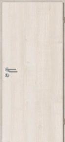 Porte seule RHEDA haut.2,04m larg.73cm revêtu mélaminé finition érable clair - Gedimat.fr