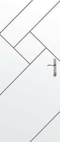 Bloc-porte isolant gravé avec inserts à poser non inclus LABYRINTHE huis.90mm haut.2,04m larg.83cm gauche poussant - Gedimat.fr