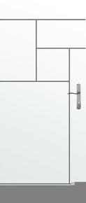 Bloc-porte isolant gravé avec inserts à poser non inclus CITY huis.90mm haut.2,04m larg.93cm gauche poussant - Gedimat.fr