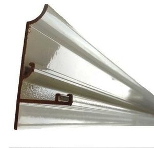 Kit profil rive blanc ép.16mm long.4,00m - Gedimat.fr