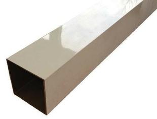 Poteau aluminium blanc 9010 - Gedimat.fr