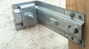 Equerre de bardage L180mm, pour la pose d'une isolation thermique par l'extérieur, 50 pièces - Gedimat.fr
