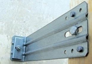 Equerre de bardage L350mm, pour la pose d'une isolation thermique par l'extérieur, 25 pièces - Gedimat.fr