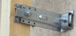 Kit Rallonge L80mm, s'adaptant sur les équerres standards et permettant un réglage supplémentaire de 0 à 40 mm, 50 pièces - Gedimat.fr