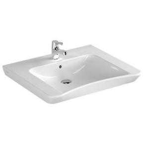 Lavabo mobilité réduite en porcelaine haut.19cm larg.59cm long.66cm blanc - Gedimat.fr