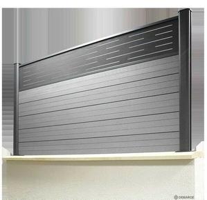panneau d co alu pour cl ture larg 1 80m. Black Bedroom Furniture Sets. Home Design Ideas
