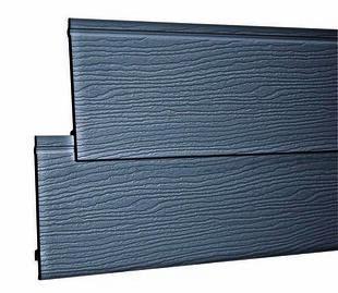 Bardage PVC cellulaire original à recouvrement 18 x 167 mm utile (210 mm hors tout) Long.4 m Gris Foncé - Gedimat.fr