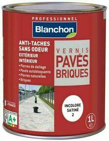 Vernis pavés briques mat - pot 1l - Gedimat.fr