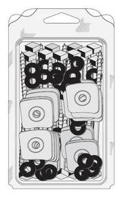 Fixation 3en1 pour plaque support de tuiles sur bois, Tirefond TH à bourrer diam.8mm long.130mm + plaquette + rondelle - 25 pièces - Gedimat.fr