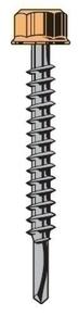 Vis TETALU P1 6,3x150, boîte de 100 pièces, RAL 1015 Jaune Sahara - Gedimat.fr