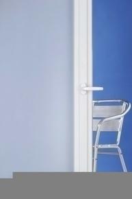 Film adhésif vitrage anti regard dépoli blanc haut.75cm long.2,50m - Gedimat.fr