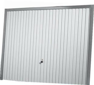 Porte de garage basculante 114 m tallique haut 2 125m larg 2 50m coloris blanc ral9016 - Porte de garage basculante hormann prix ...