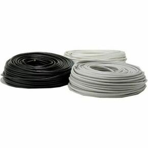 Câble électrique souple H05VVF section 4G1,5mm² coloris gris vendu à la coupe au ml - Gedimat.fr
