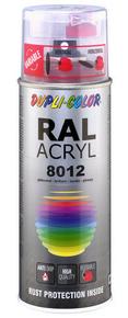 Bombe de peinture RAL 8012 Brun rouge - Brillant Duplicolor - Gedimat.fr