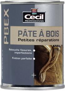 Pâte à bois petites réparations PBEX 500gr coloris naturel - Gedimat.fr