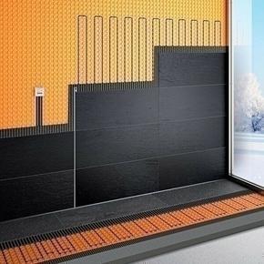 Kit surface tempérée électrique DITRA-HEAT-E Schlüter Systems 8m² - Gedimat.fr