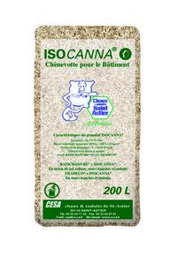 Chanvre ISOCANNA N sac 200L - Gedimat.fr