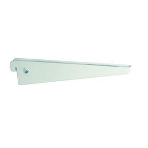 Console double long.47cm entraxe 3,2cm blanc - Gedimat.fr